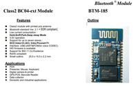 Bluetooth Class 2 BC4 HID module with line antenna