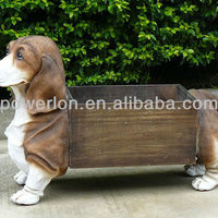 New Lovely Dog Classical Antique Outdoor