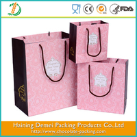 washable kraft paper shopping bag brand name by china gift paper bag manufactures