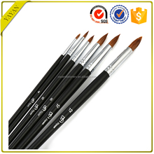 Art Supplies Red Sable Oil Paint And Acrylic Paint Brush Set For Oil Painting