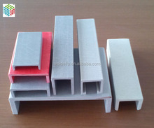 Waterproof pultruded structural fiberglass frp channel