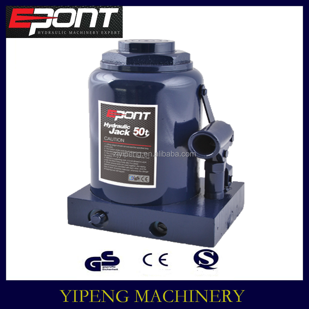 factory offering hydraulic pressure car lifting bottle jack of 50T car jack