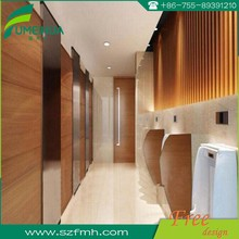 Fumeihua waterproof phenolic toilet partitions/ used bathroom partition