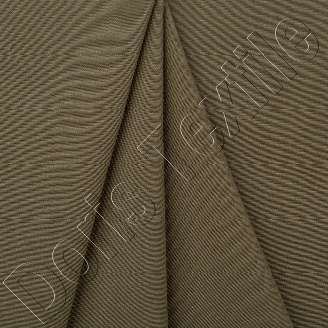 TC polyester/cotton material mechnical stretch twill fabric