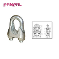 China Factory Zinc Plated Malleable Wire Rope Clip