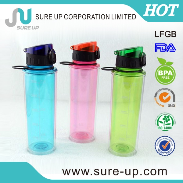 popular products smart double wall plastic cup for kids (PBUA)