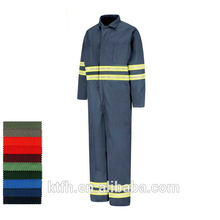 2016 OEM Cheap Coveralls With Reflector Women Coveralls Workwear