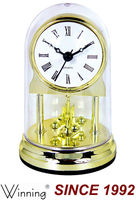 Cheap Small Quartz Desk Clock For Gift or Promotion