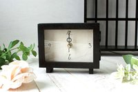 Japanese Antique Style Table Clock Mini C