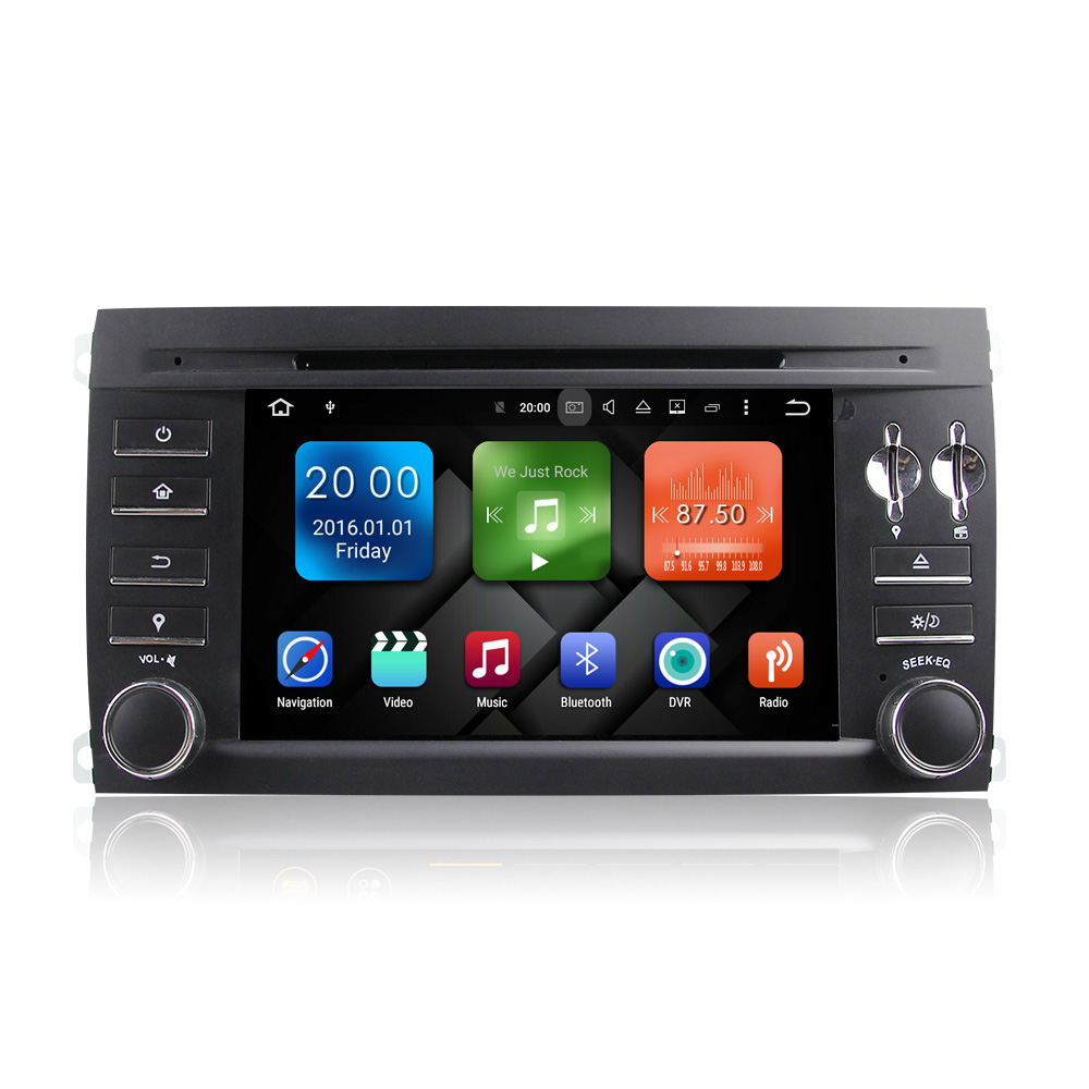 Android6.0.1 Rochchip PX5 Octa-Core Special Car Audio with DAB+ Radio Bluetooth for Cayenne 2G+32G WB7097