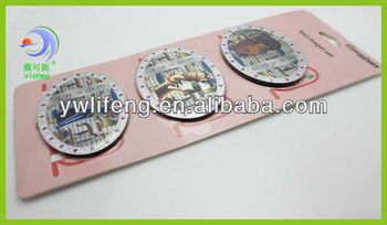 custom sweden cities foil souvenir magnets(LF-XL0144)