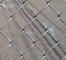 Black green portable kit chain link fence panels