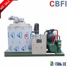 sea water and fresh water automatic industrail and commercial flake ice machine for fishery