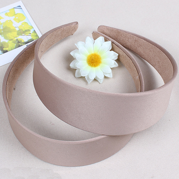 The Korean Style Fashion Multicolor Wide Cloth Art Hair Band for Woman