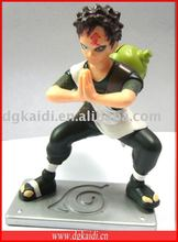 Hot sale Naruto 3D plastic action figure