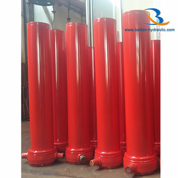 HYVA multistage dump truck telescopic lifting hydraulic cylinder for tipper/trailer