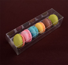 Wholesale PET Clear Plastic Box for Food Macarons Package