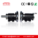 STEKI 2018 soft jaw chuck flange foot mounted for foil machines alternative Mitsubishi
