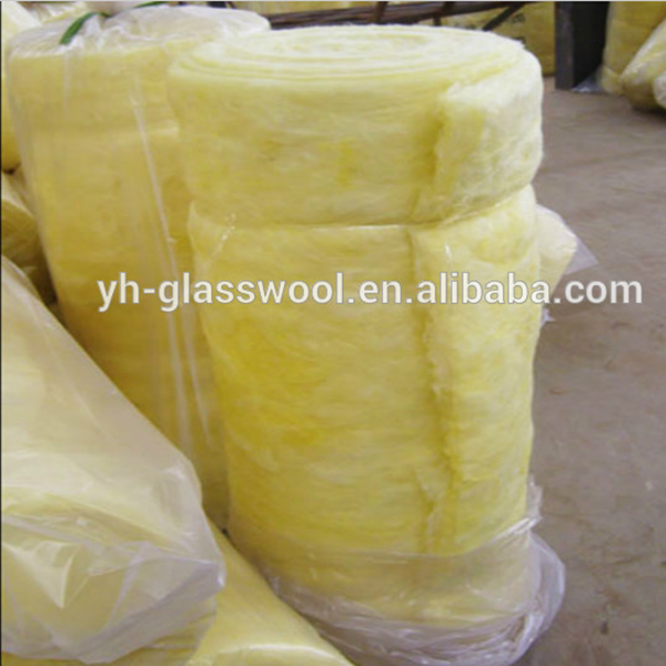 China manufacturer glass wool blanket/ light weight heat resistant materials