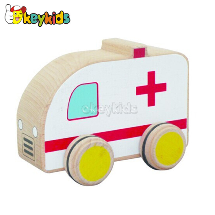 2016 wholesale baby wooden craft car, fashion kids wooden craft car, hottest children wooden craft car W04A108