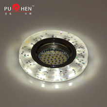 pattern background resin ceiling lamp/led lights