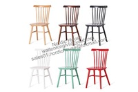 replica solid beech wood black/Nature Color IRONICA salt chair, Windsor Chair wholesale