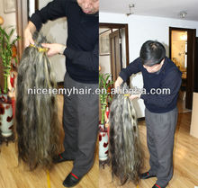 grey hair bulk unprocessed virgin hair extension raw hair bulk