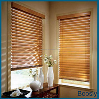 indoor horizontal wooden venetian blinds/curtains