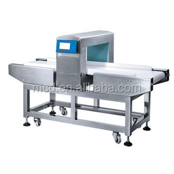 Big Touch Screen Intelligent Food Metal Detector for Food Processing Industry MCD-F500QD