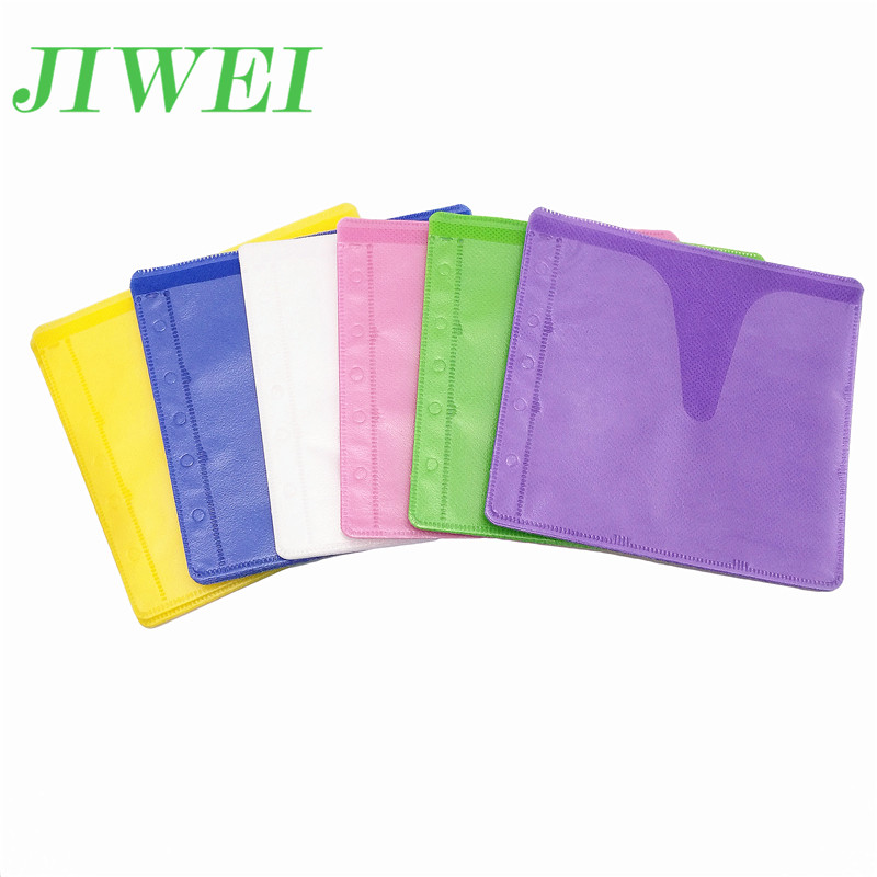 Plastic Double Sided Sheet DVD Storage Sleeves CD DVD Binder