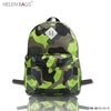 Fashion School Camouflage Backpack for Young Bag