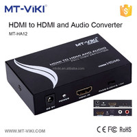 MT-VIKI hdmi to hdmi+audio converter support spdif+r/l analog resolution up to 1080p MT-HA12