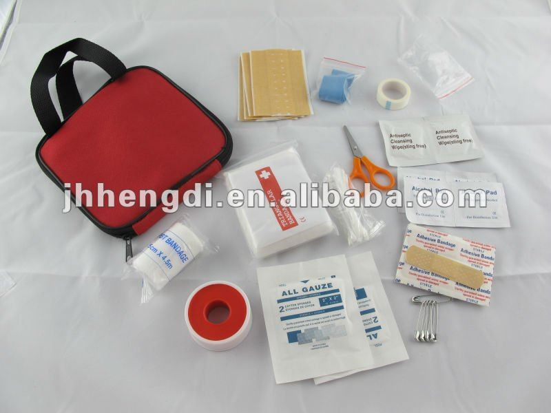 Small First Aid kit with handle fashion design