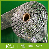Reflective Bubble Foil /Double Bubble Laminated With Aluminum Foil Insulation for construction use