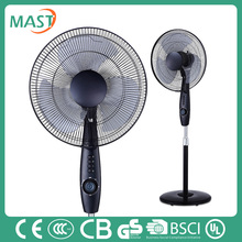 Ice spray fan 16'' electric stand fan hot selling air cooling type with copper motor for high temperature protection