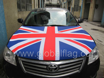 The Union Jack Car Bonnet Engine Hood Cover