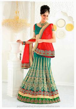 Lastest Net Lehenga Dress For Indian Women By Natasha Couture 2016 3
