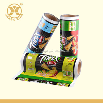 China supplier packaging film, laminated roll film for chips packaging