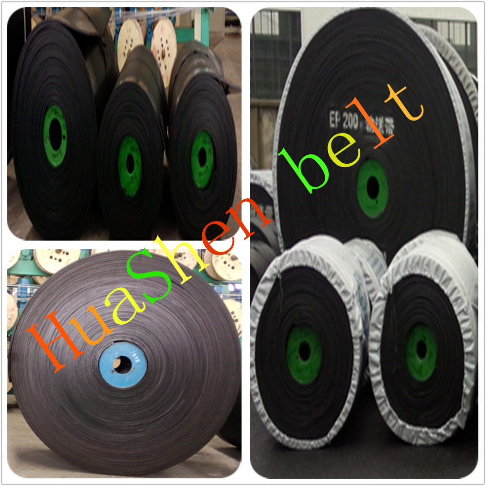 China Multi fabric ep/nylon/cotton 4 ply rubber conveyor belt price