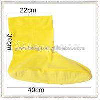 WJ123 Natural Latex Boots With Bits