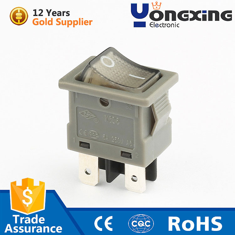 factory price hot selling 6a 250v t55 4pin rocker switch