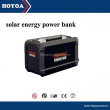 500Wh Lithium Battery solar generator ac output solar car jump starter power bank