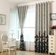 Energy Saving Insulated Blackout Eyelet Curtain for Living Room