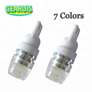 T10 2 SMD 5630 Lens LED 2md 5730 Spot 168 194 Car Light Auto Bulb License Plate Light White Green Red Yellow Ice blue 12V