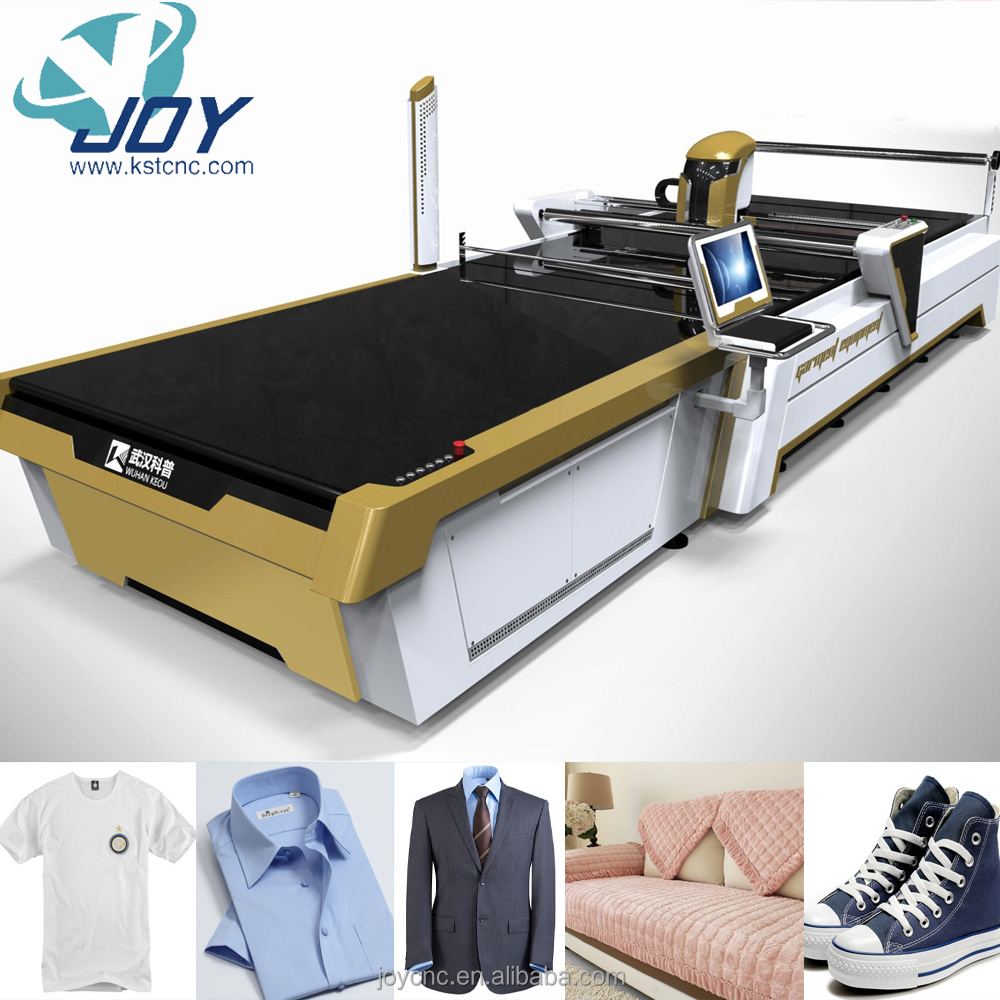 High precision Automatic computerized Cloth Cutting Machine garments fabric cnc cutting table