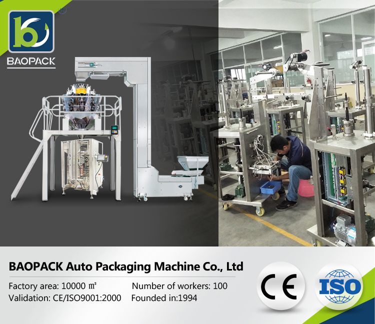 VFFS Automatic multi-function Packaging Machine for Liquids and sauces