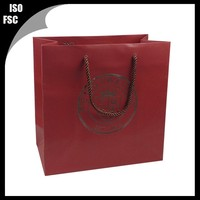 Privately owned shopping paper bag for shirt