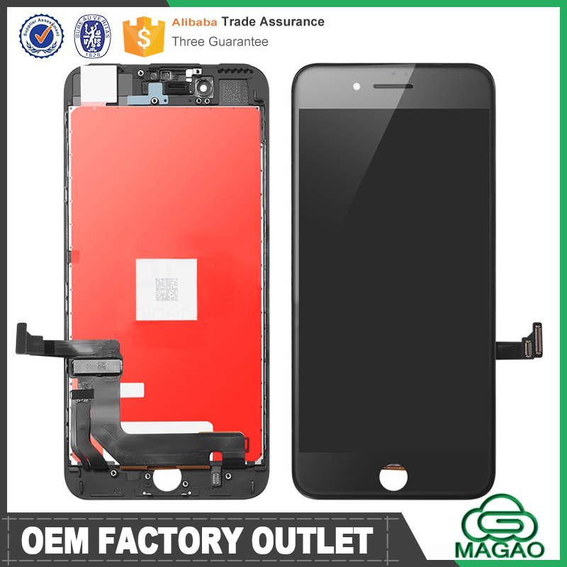 AAA repair parts for iphone 7 lcd display digitizer,3c factory tianma lcd genuine for iphone 7 frame