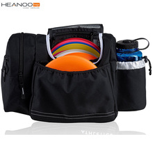 Custom make colorful 10-14 Disc Capacity tote disc golf bags with Bottle Pocket