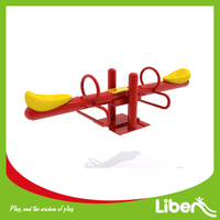 Outdoor Playground Kids Playset Metal Seesaw, High Quality Children Metail Seesaw for School